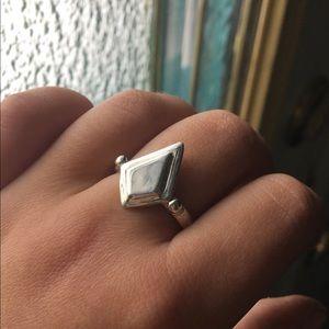 Jewelry - Geometric silver ring
